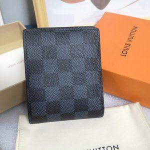 🍓LouisVuitton🍓 damier graphite wallet